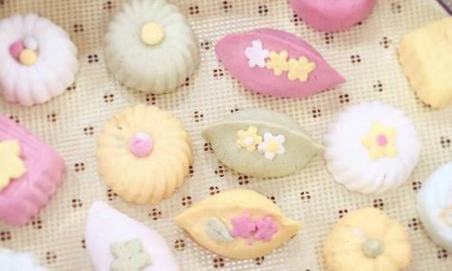 韩国秋夕节花松饼