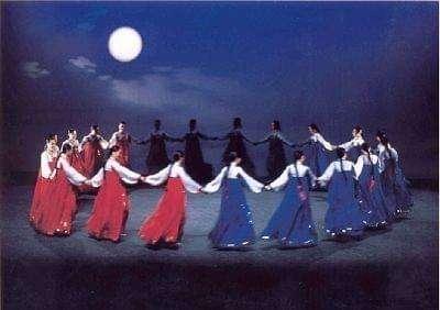 秋夕节舞蹈